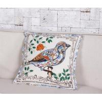 Buy cheap Country Style Room Decoration Bird Embroidery Throw Pillow Case from wholesalers