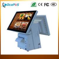 Wholesale 15 Inch Touch Dual Screen All in one Touch Screen POS System/Cash Register from china suppliers