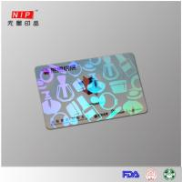 Wholesale Hologram Id Overlay Hologram embossed transfer overlay with laser effect from china suppliers