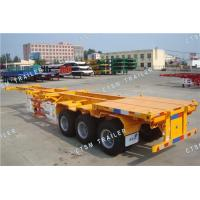 Wholesale 3-Axle 40FT/20FT Container Transport Skeletal Semi Trailer from china suppliers