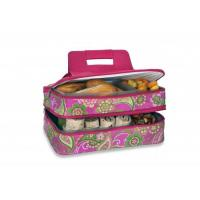 Wholesale Picnic Plus Entertainer Hot & Cold Food Carrier - Pink Desire from china suppliers