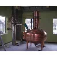 Wholesale copper Alcohol distill plant from china suppliers