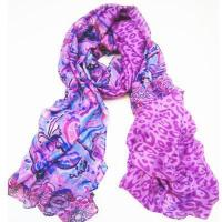 Wholesale Scarf & Tippet SLP020 Beach Wrap Volet Flowery Sarong Pareo from china suppliers