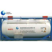China R407C Refrigerant Gas Colorless In Bulk ISO Tank on sale
