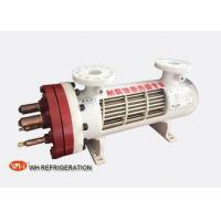 Wholesale Dry Type U Tube Titanium Heat Exchanger For Heat Pump 209KW Cooilng Capacity from china suppliers