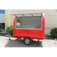 Wholesale Top quality street food trailer mobile food cart with wheels from china suppliers