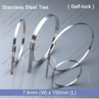 Wholesale E1272 Stainless Steel Tie (7.6mm x 150mm) from china suppliers
