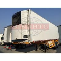 Wholesale Double Alxe Refrigerated Semi Trailer, 40FT Refrigerated Enclosed Cargo Trailers from china suppliers