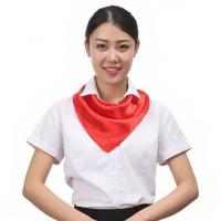 Wholesale Solid Color Polyester Scarves from china suppliers