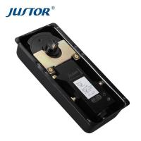 China JU-28 Stainless steel furniture accessories hardware floor spring door hinge on sale
