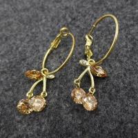 Buy cheap Stock CZ stud Name:Geometric type Earrings from wholesalers