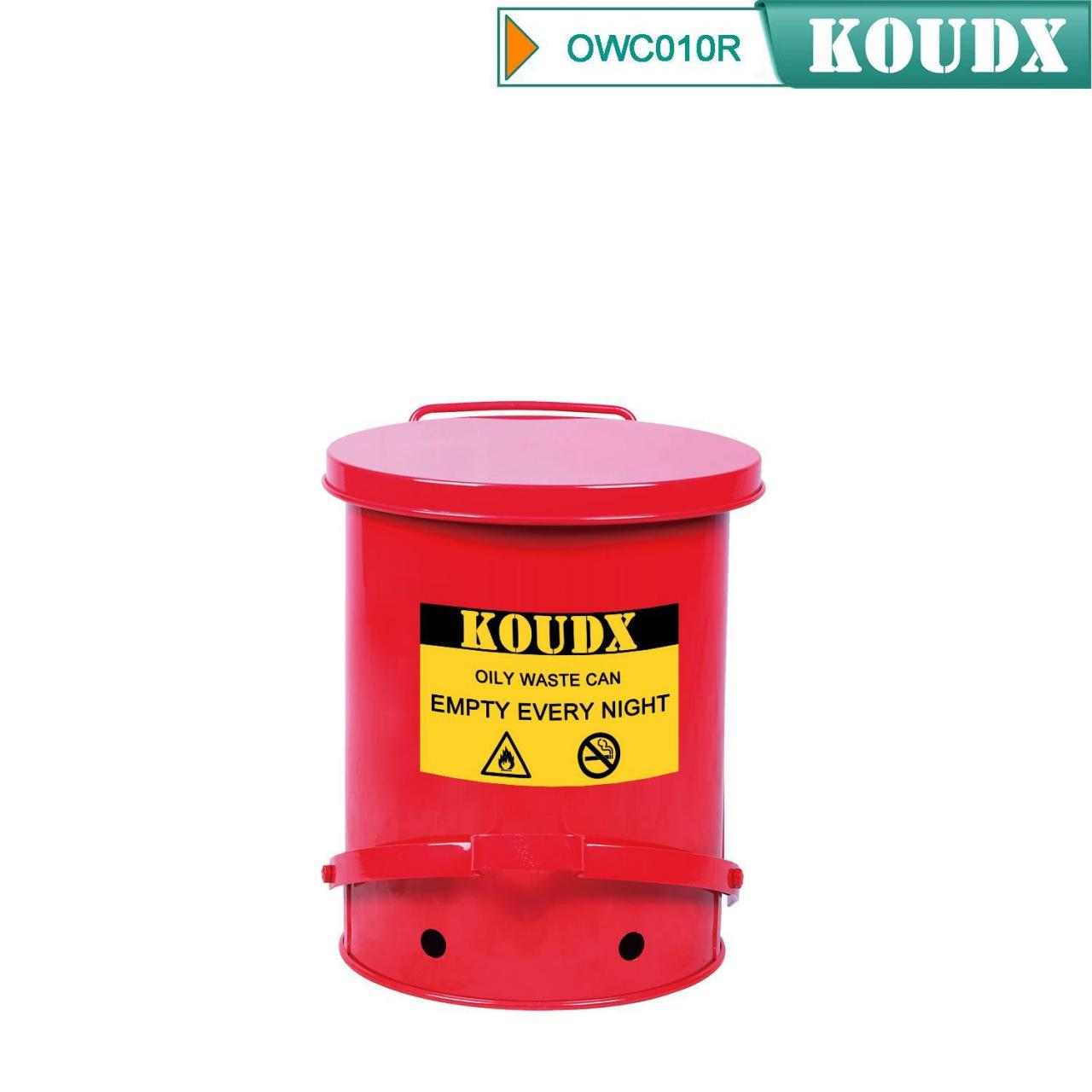 Buy cheap Oily Waste Can(Red) from wholesalers