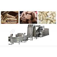 Buy cheap 65 Moulds Wafer Biscuit Production Line for 250kg/h from wholesalers