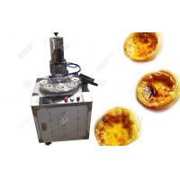 Buy cheap Egg Tart Shell Making Machine|Tart Skin Forming Machine from wholesalers