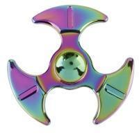 Buy cheap Fidget Spinner Metallic Rainbow Blades from wholesalers