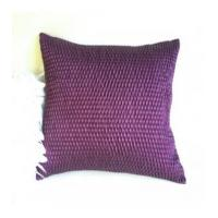 China violet purple plain color art decor pillow cases for home sofa bedding on sale