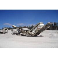 Buy cheap Tracked mobile crushing station from wholesalers