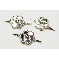 Buy cheap 2 Prong Nailheads with Flower-Shaped from wholesalers