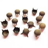 Buy cheap Antique Brass Nailheads, Seeded Round Dome Studs from wholesalers