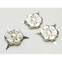 Buy cheap 3 Prongs Flower Shaped Nailheads for Leather Work from wholesalers
