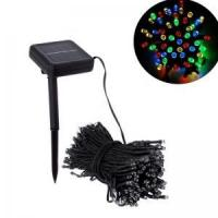 Buy cheap LED-Solar-08100SLED solar Christmas string lights of 100 leds with8 flashing modes from wholesalers