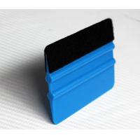 Buy cheap Blue Plastic Squeegee with felt from wholesalers