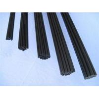 Buy cheap Carbon fiber pultruded rod/tube/trip Pultruded rod from wholesalers