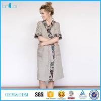Wholesale Embroidered Linen Kimono from china suppliers