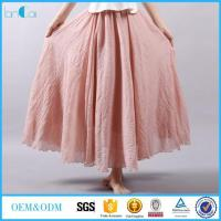 Wholesale Boho Linen Skirt from china suppliers