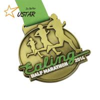 Buy cheap Factory Direct Price Zinc Alloy Metal Marathon Medal 5k Running Medal from wholesalers
