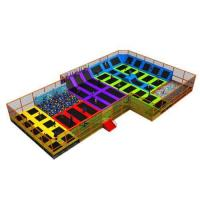 Buy cheap Square Trampoline from wholesalers