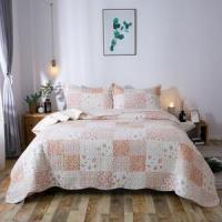 Buy cheap Kasentex Country-Chic Printed Pre-Washed Quilt Set. Microfiber Fabric Multi-Pink from wholesalers