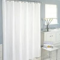 China White Shower Curtain on sale