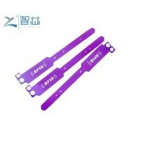 Buy cheap 13.56MHz HF Disposable Softer PVC MIFARE 1K RFID Wristband from wholesalers