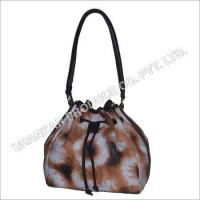 Wholesale Leather Tie & Die Hand Bag from china suppliers