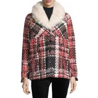 Buy cheap Rag & Bone Antione Button-Front Tweed Jacket W\/ Shearling Women Apparel from wholesalers