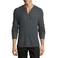 Wholesale Rag & Bone Merino Wool Waffle Henley Charcoal Men Apparel Activewear from china suppliers