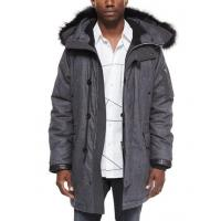 Wholesale Rag & Bone Mixed Media Parka With Fur-Trimmed Hood Charcoal Men Apparel Coats & Jackets from china suppliers