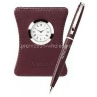 Buy cheap Harvest Ballpoint Leather Clock Set from wholesalers