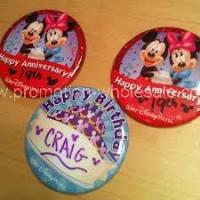 Buy cheap Disney Round Badge from wholesalers