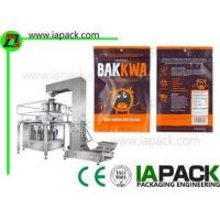 Buy cheap Rotary Automatic Beef Jerky Ziplock Filling Sealing Packing Machine from wholesalers