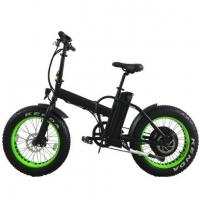Wholesale 20 Inch Folding Electric Fat Bike 1000w 48v for Sand from china suppliers