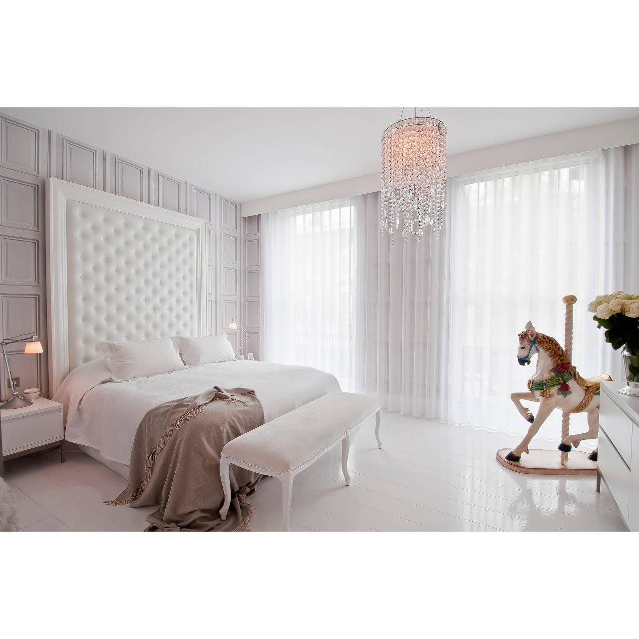 Wholesale 100% POLYESTER SHEER DRAPES IN CRYSTAL WHITE from china suppliers