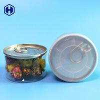 Wholesale Airtight Nitrogen Flush 90ML 100ML Mini Plastic Clear PET 3.5Gram Weed Herb Cans from china suppliers